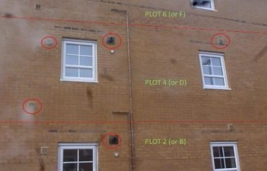 Comparmentation and Fire Stopping potential Failure